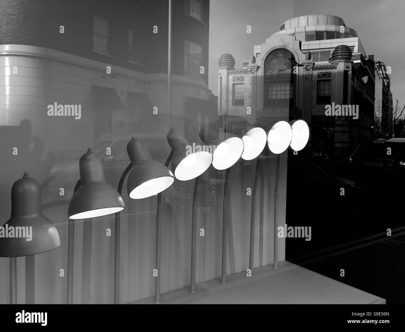 Vibe dun, Fulham road,London - Stock Image