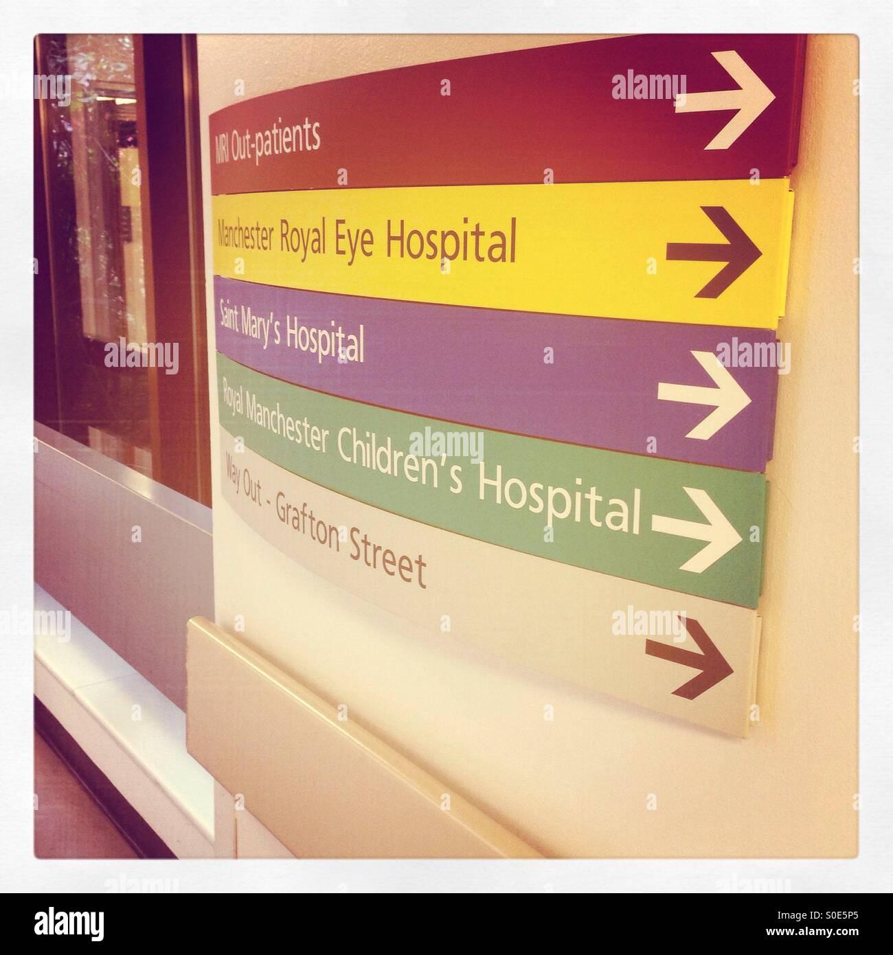 Hospital - Stock Image