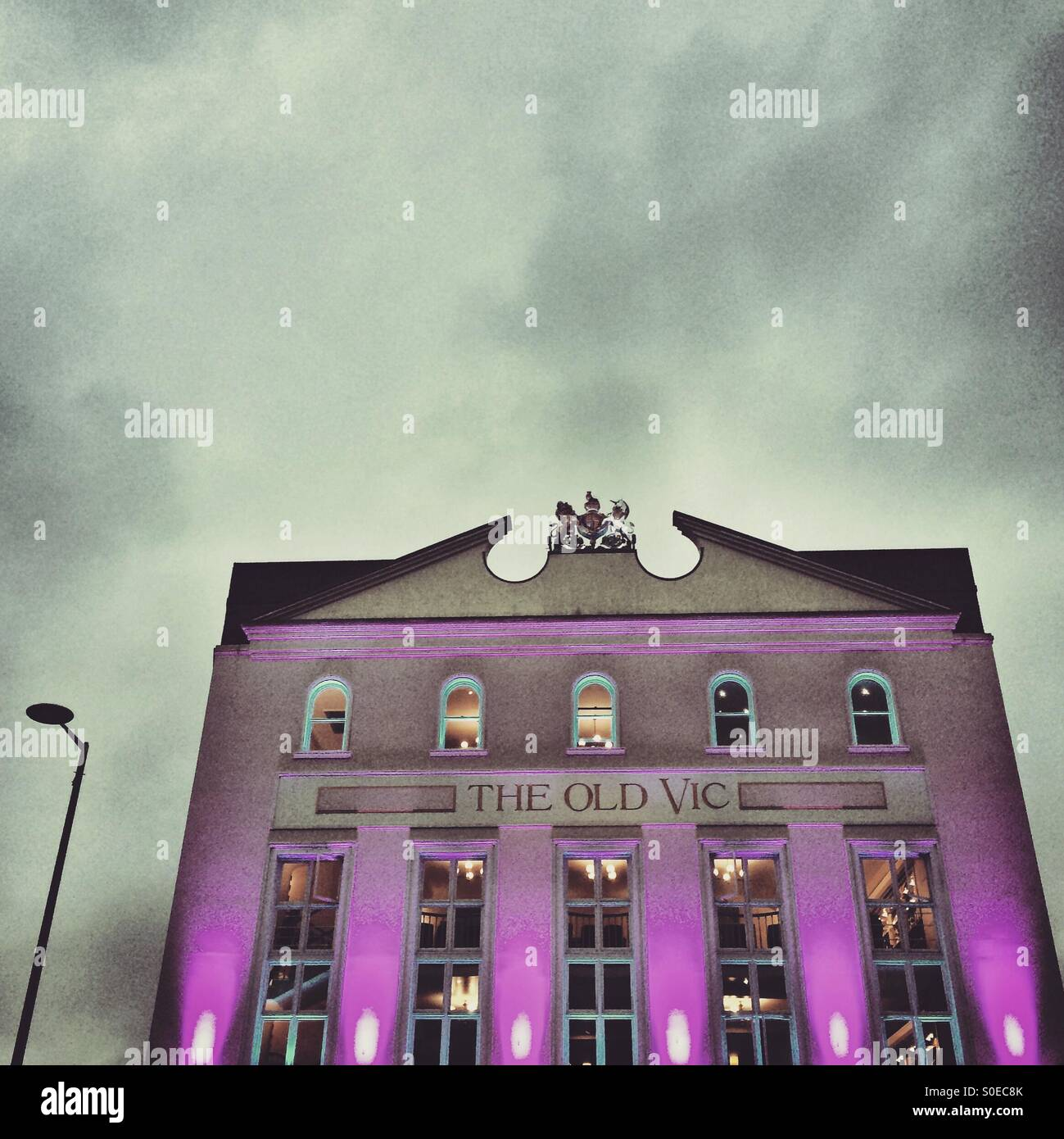 The Old Vic Theatre in London - Stock Image