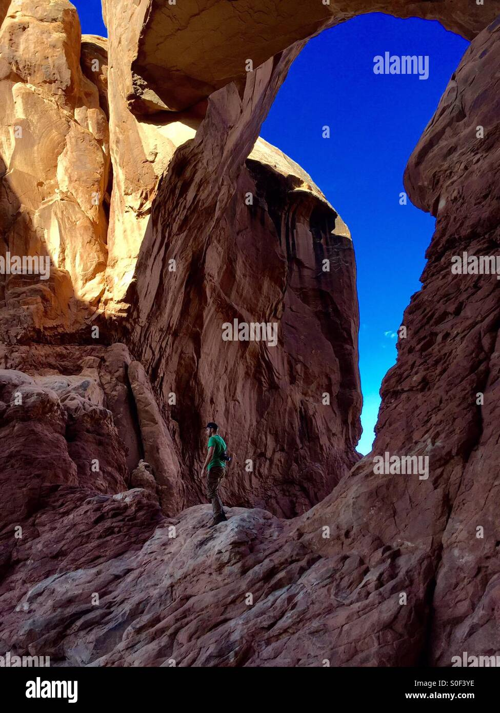 To the summit - Stock Image