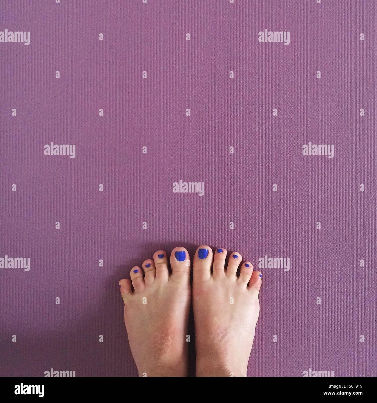 Yogi toes - Stock Image