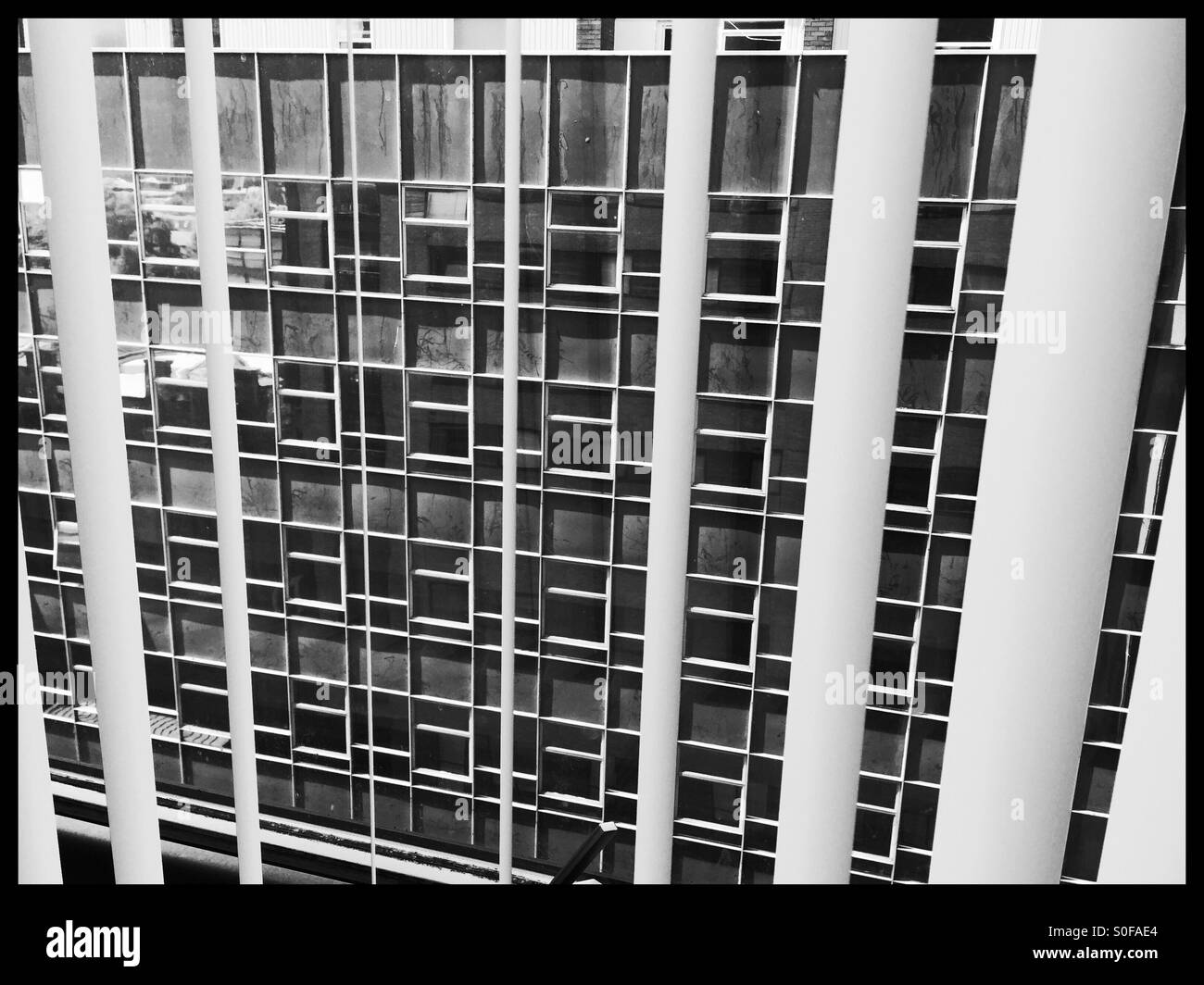 High class city centre living - Stock Image