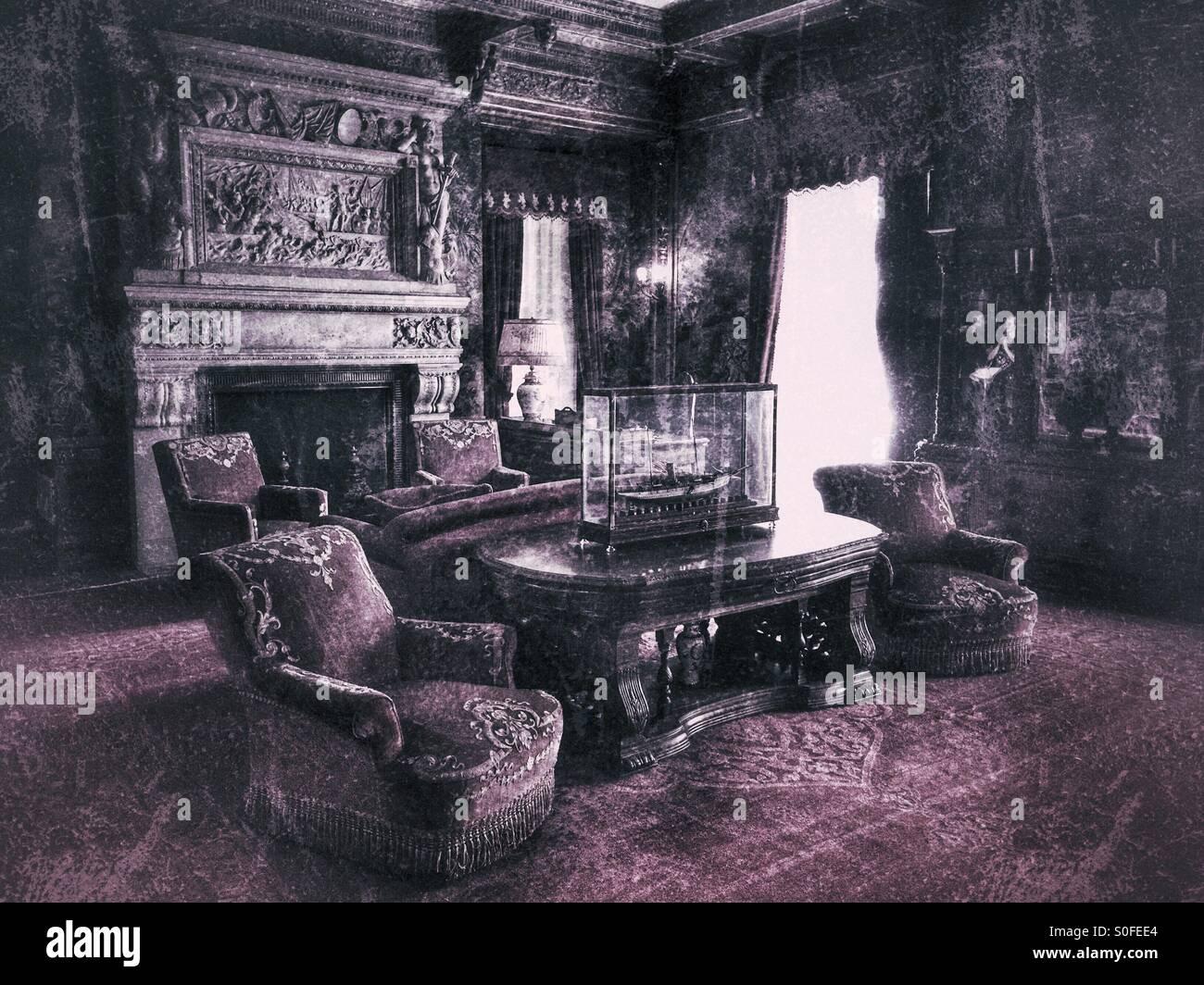 Fireplace 1800s Stock Photos & Fireplace 1800s Stock Images - Alamy