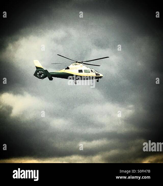Great North Air Ambulance - Stock Image