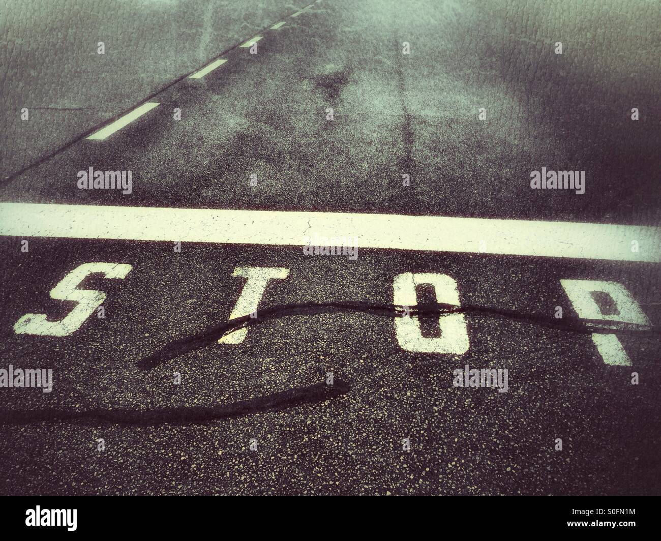 Stop - Stock Image
