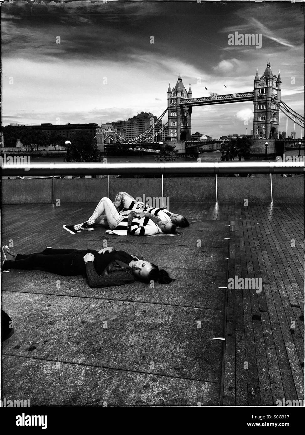 Summer in London. - Stock Image