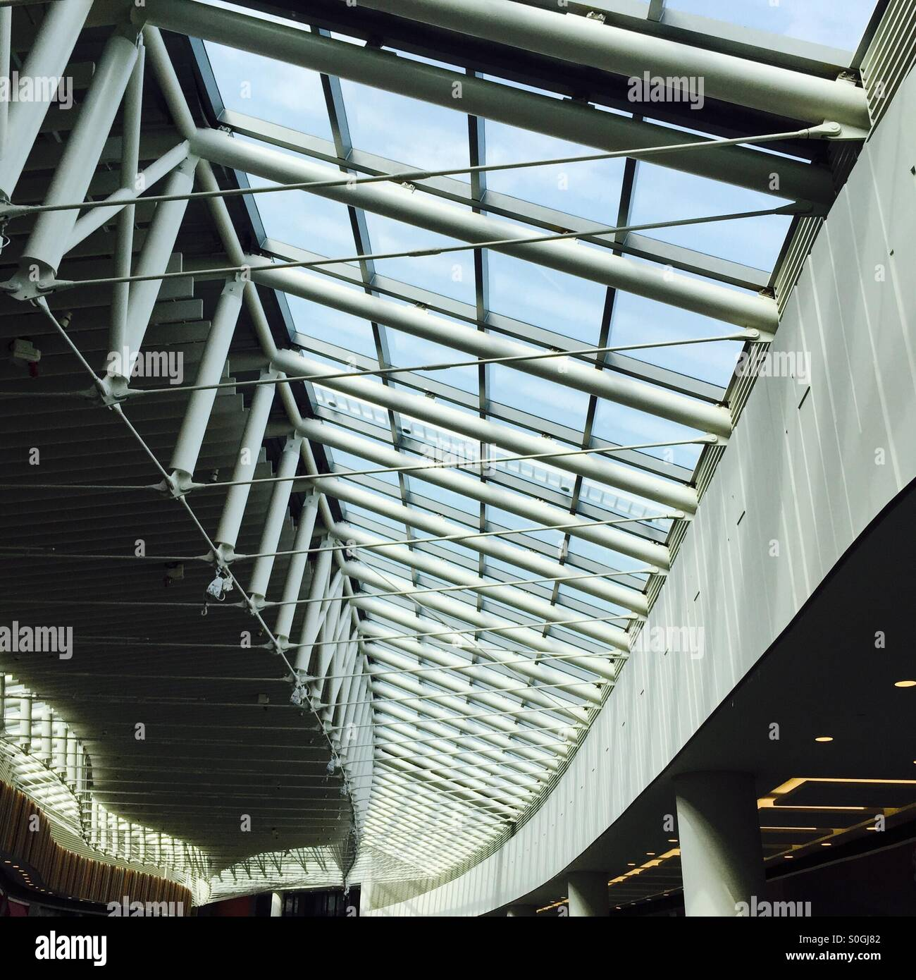 Steel Roof Truss High Resolution Stock Photography And Images Alamy