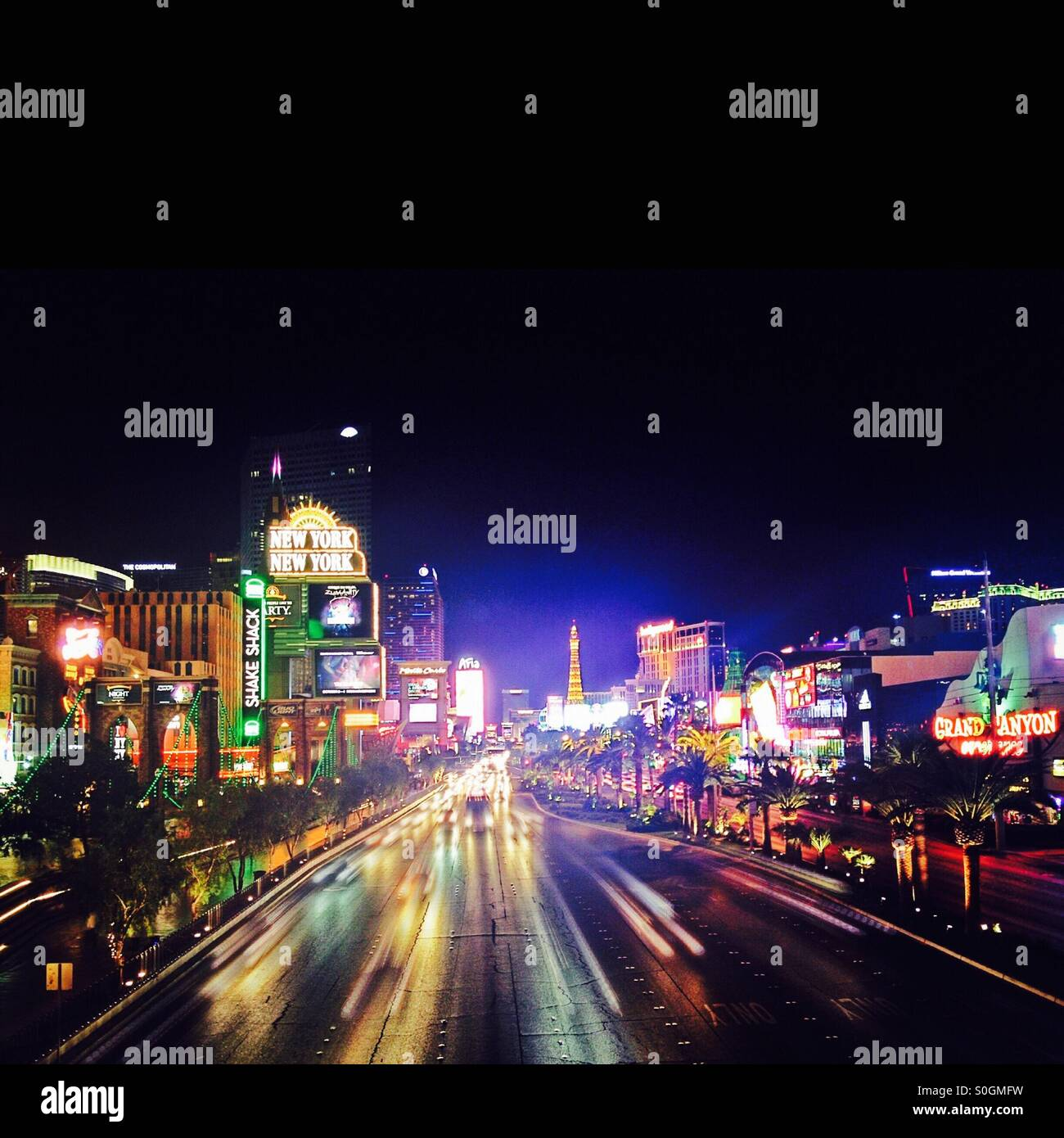 Las Vegas never sleeps - Stock Image