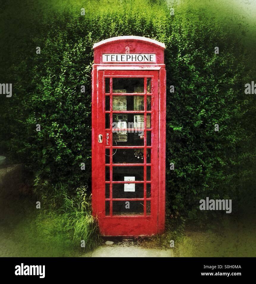 Phone box - Stock Image