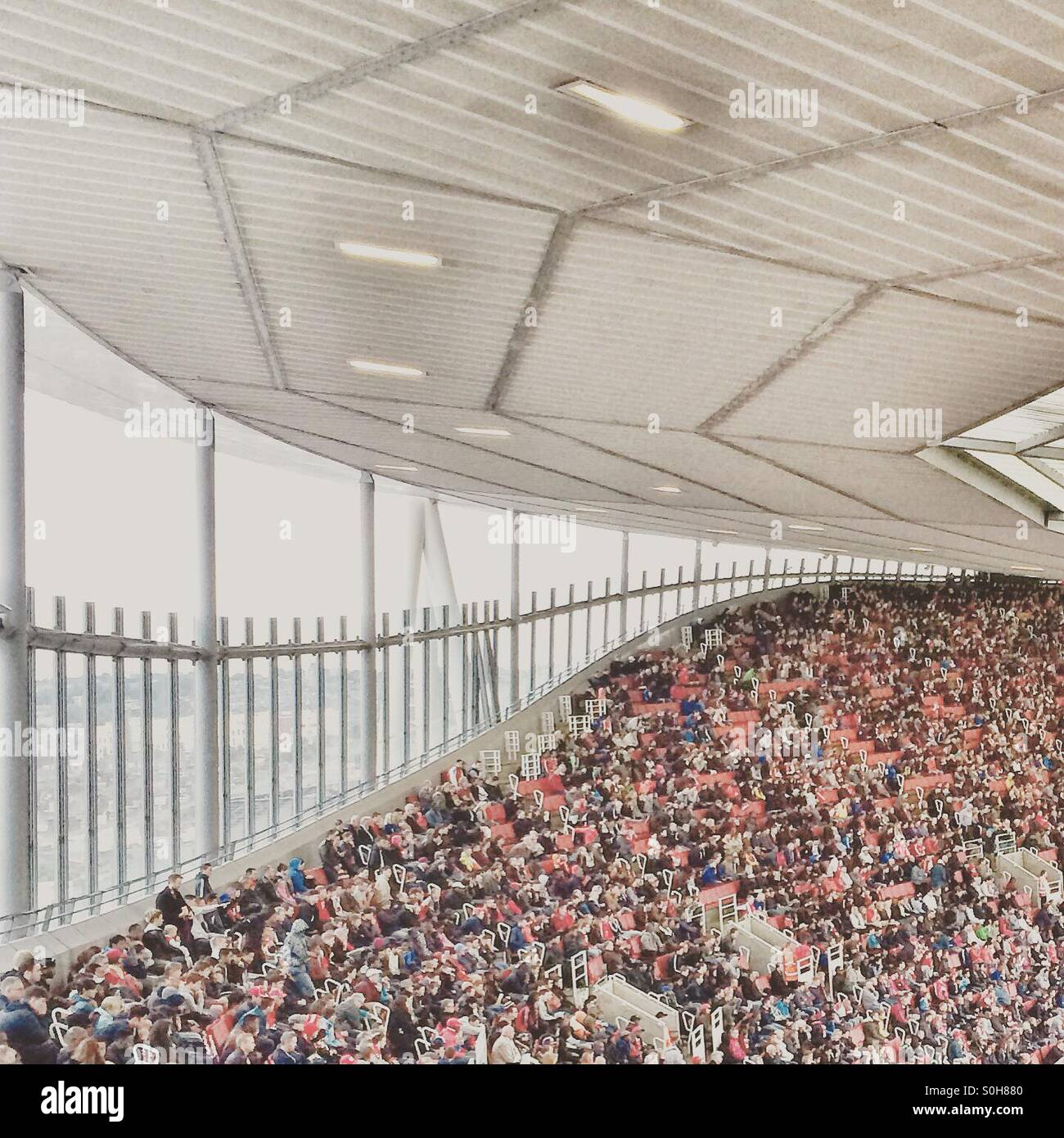 The Emirates Stadium, home of Arsenal Football Club - Stock Image