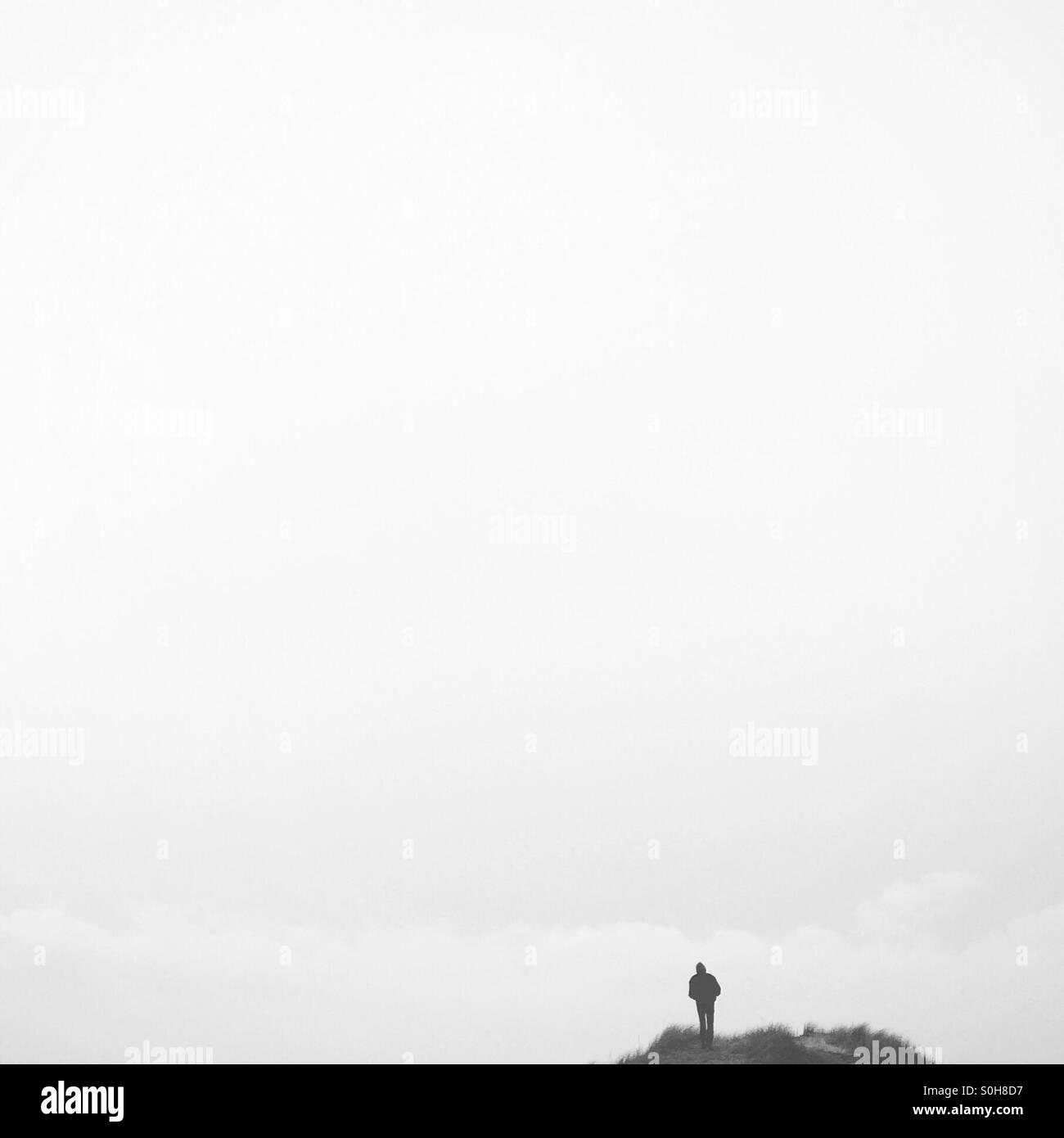 Cloud surfer - Stock Image