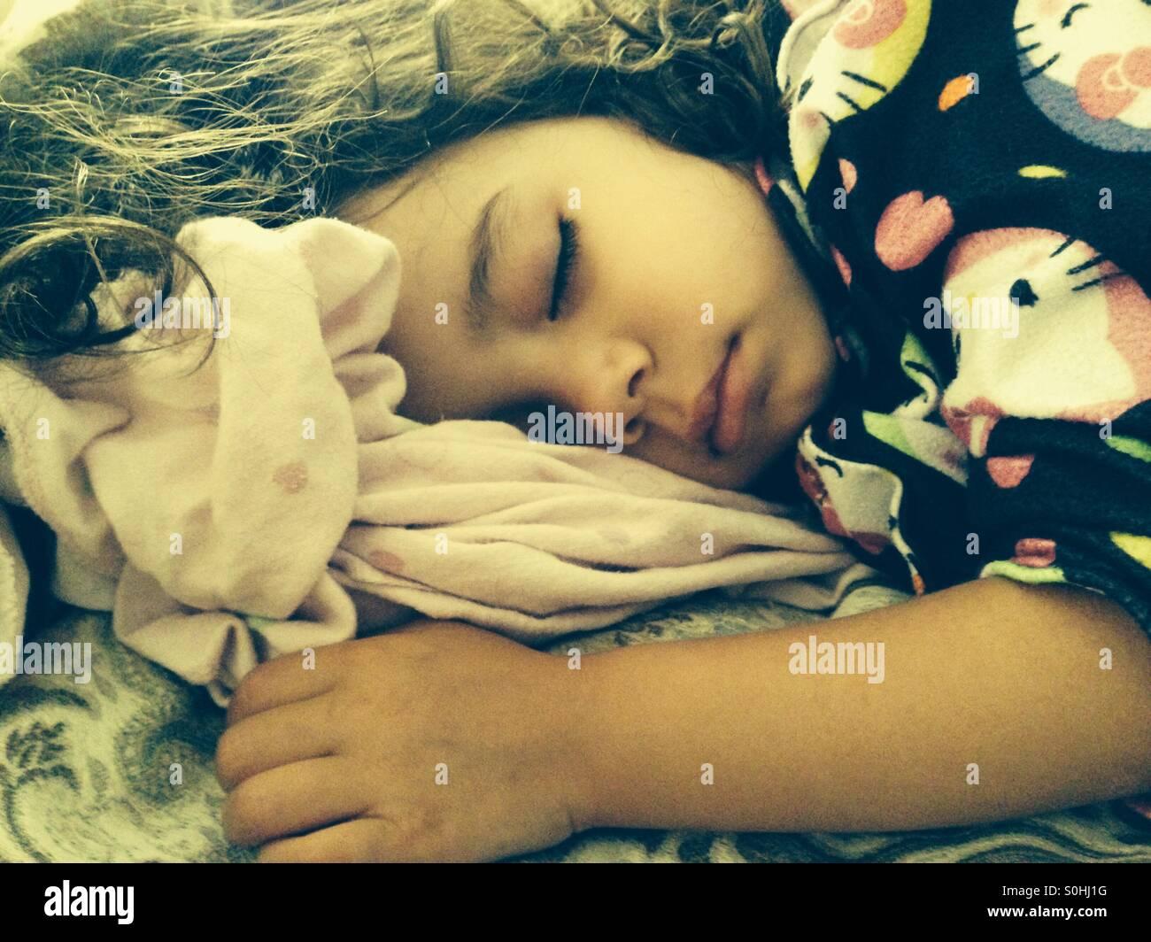 Sweet slumber - Stock Image