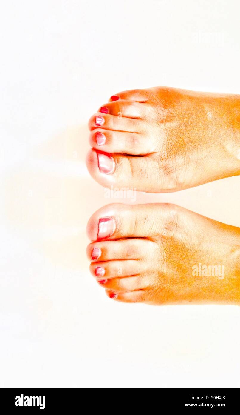 Feet - Stock Image