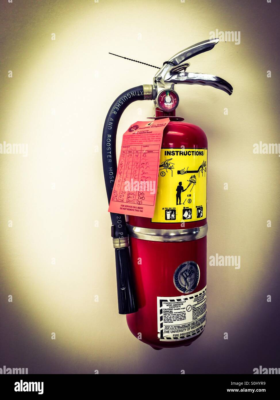 Fire focus - Stock Image