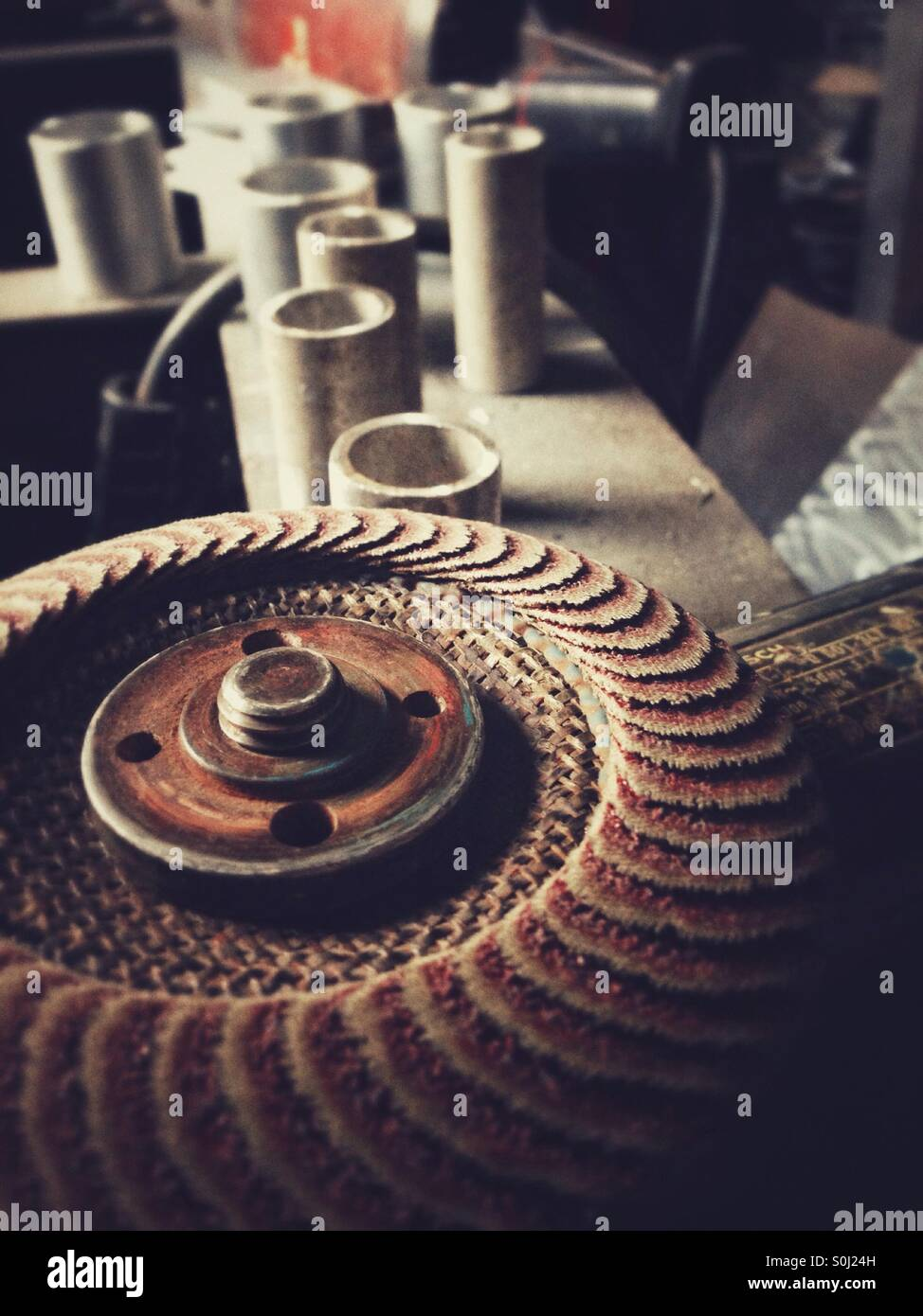 Angle grinder - Stock Image