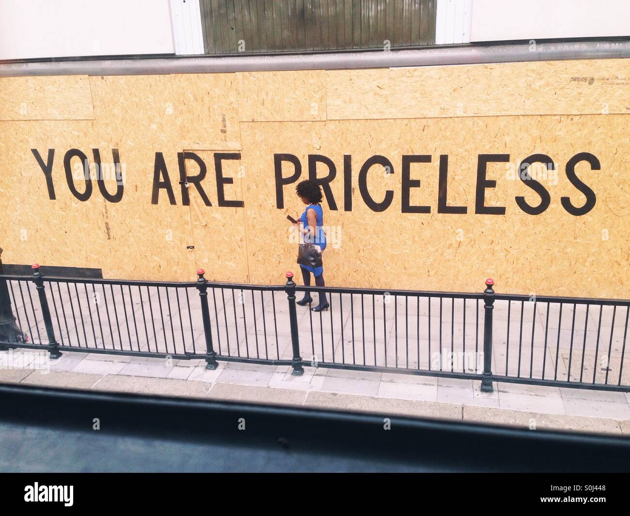 You are priceless - Stock Image