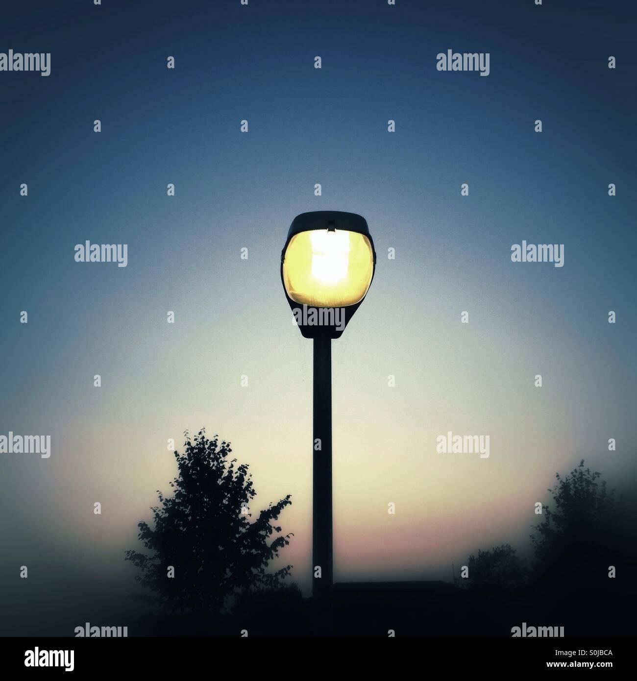 Streetlamp - Stock Image