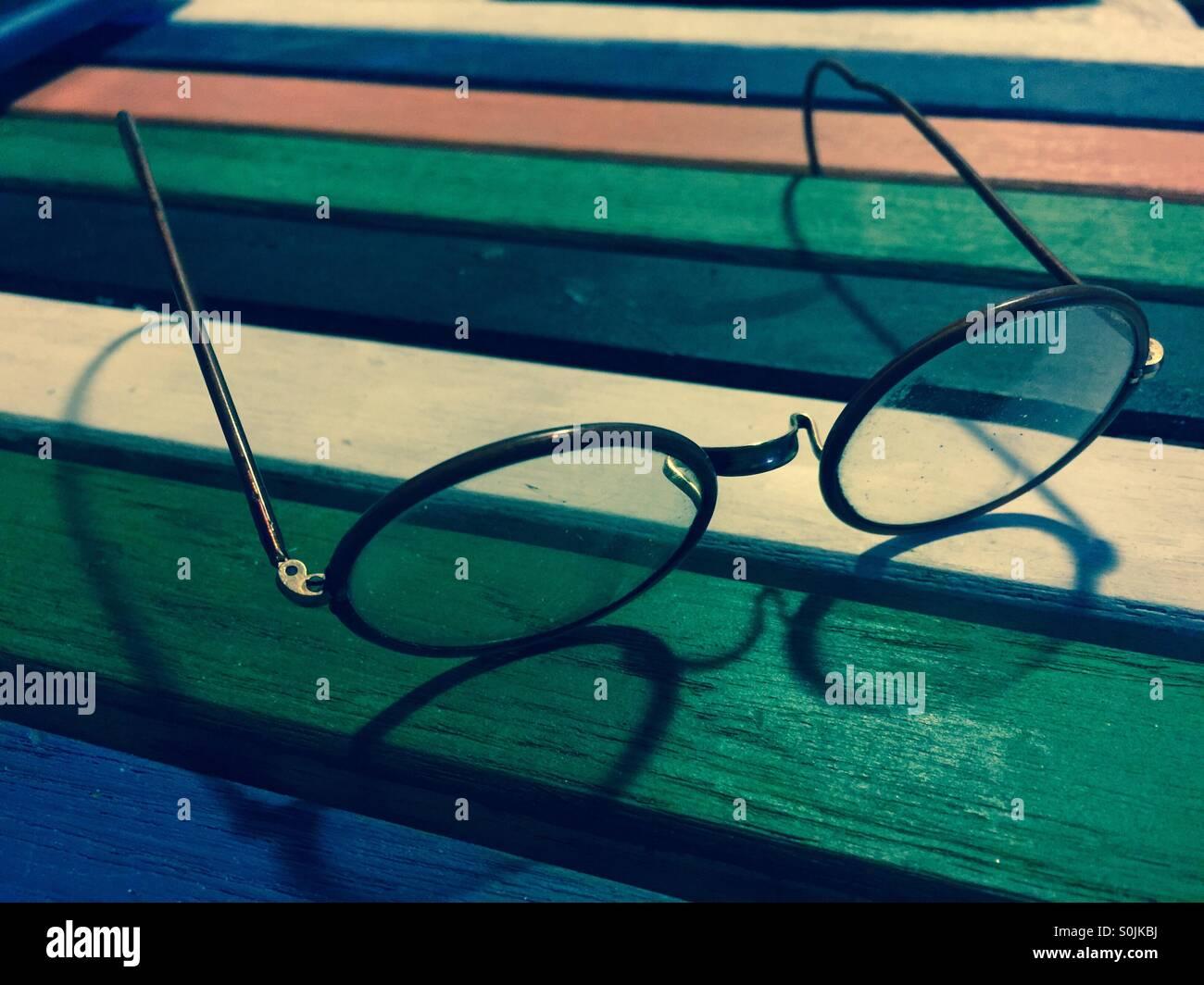 Vintage Eyewear - Stock Image