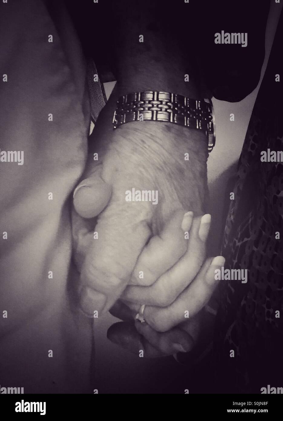 Loving Hands - Stock Image