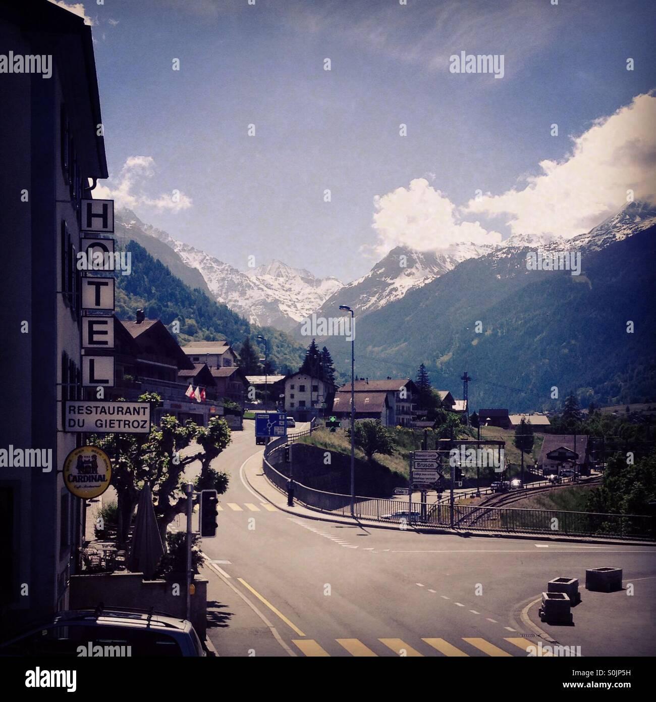Vernier Switzerland 2014 - Stock Image