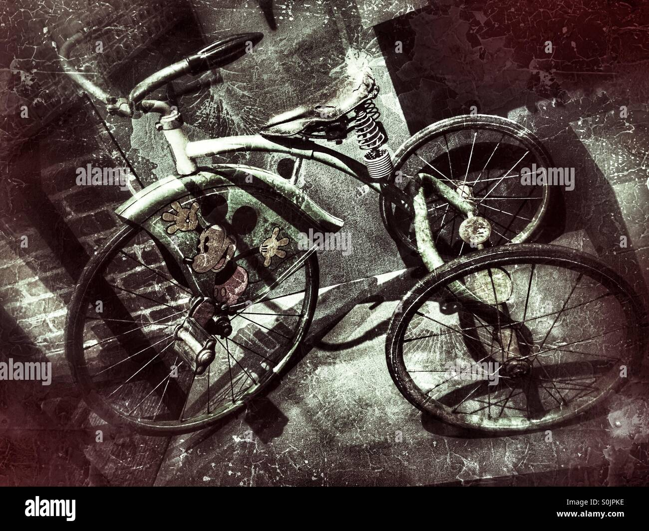 Vintage Trike High Resolution Stock Photography And Images Alamy