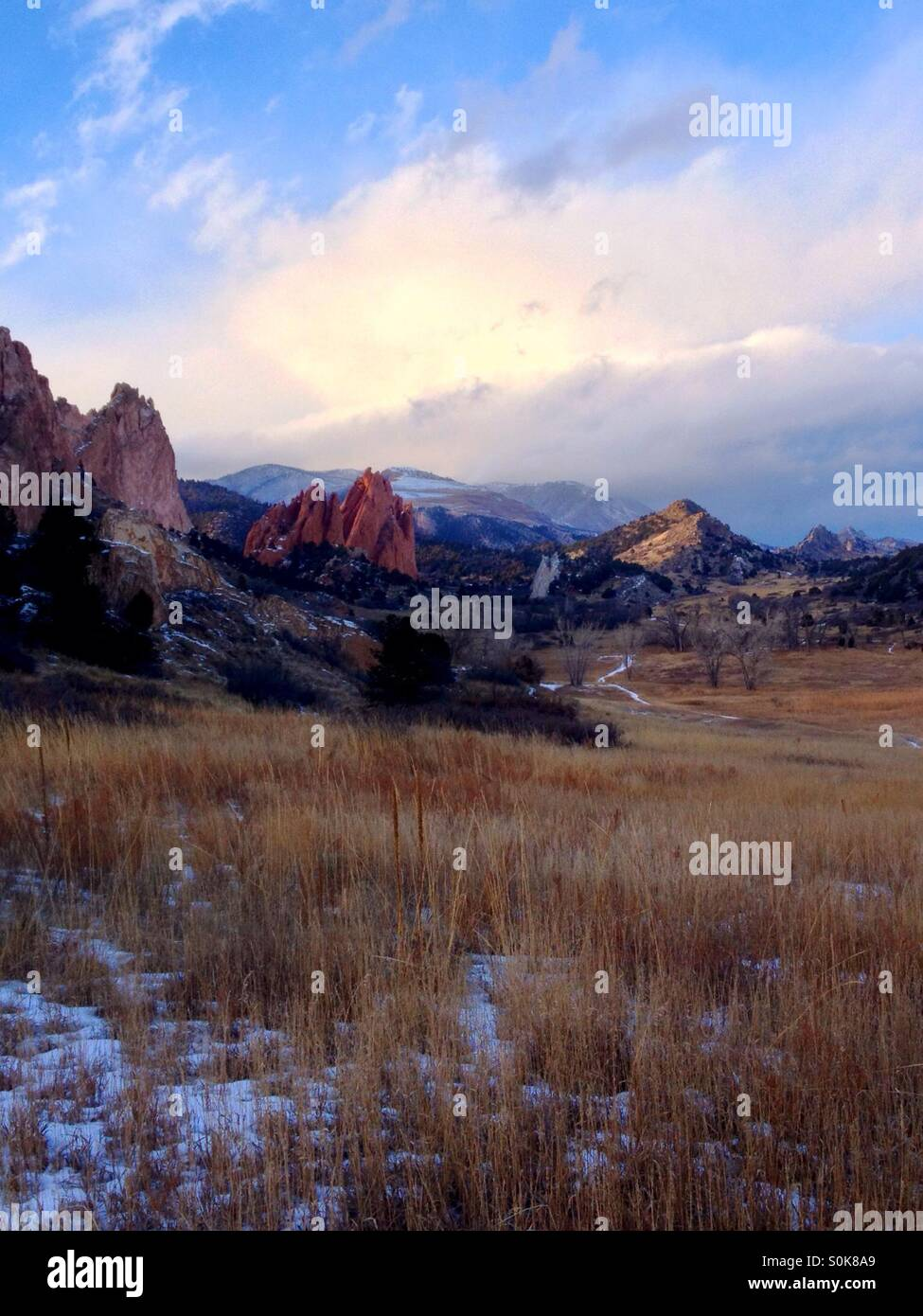 Garden of the Gods, Colorado - Stock Image