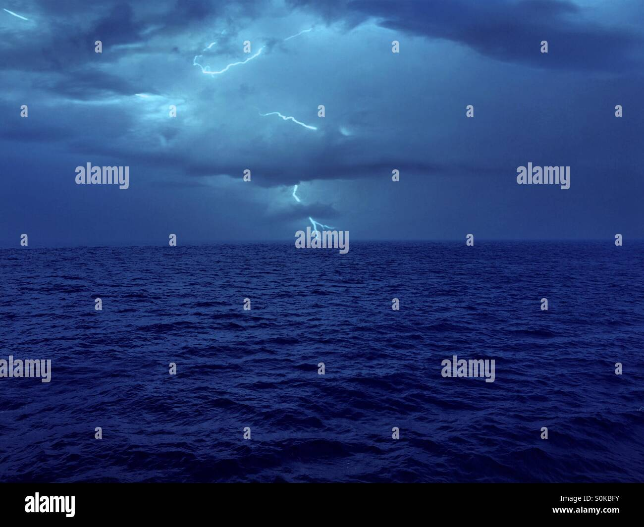 Lighting At The Ocean