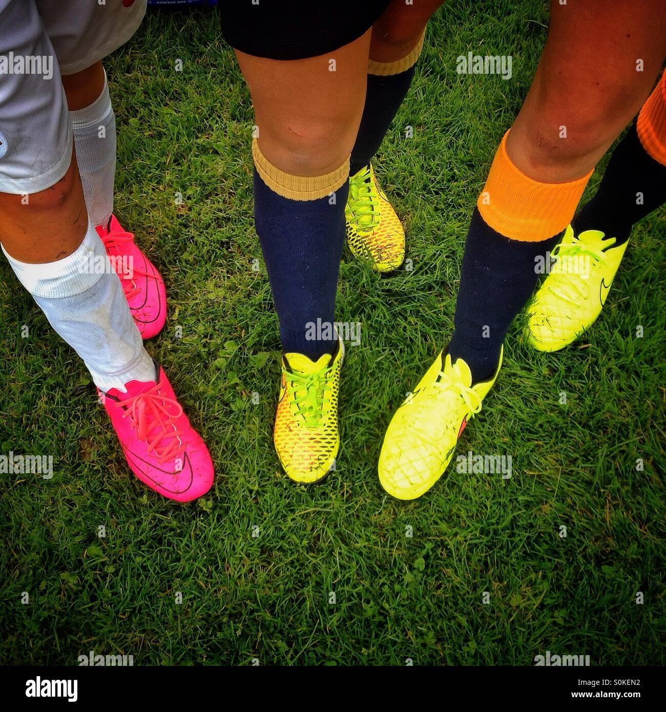Footie - Stock Image