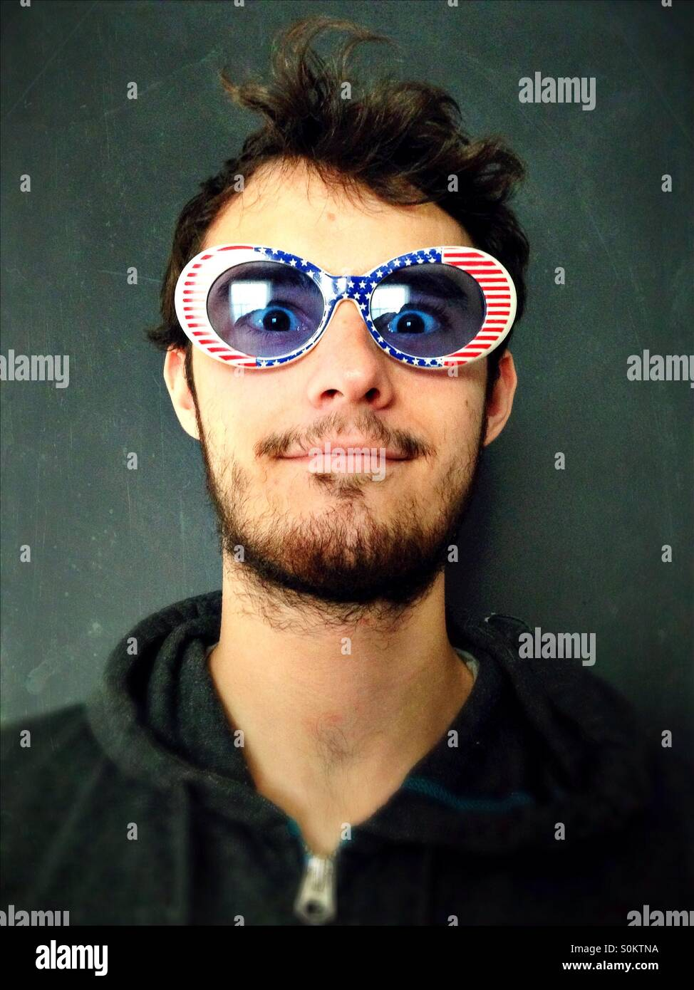 eea8ef207714 Patriotic Man Stock Photos   Patriotic Man Stock Images - Alamy