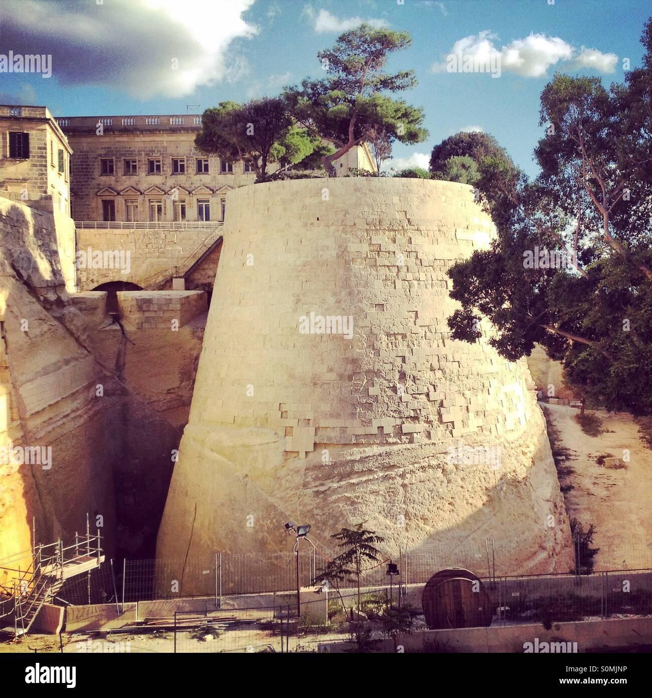 Valleta in Malta - Stock Image