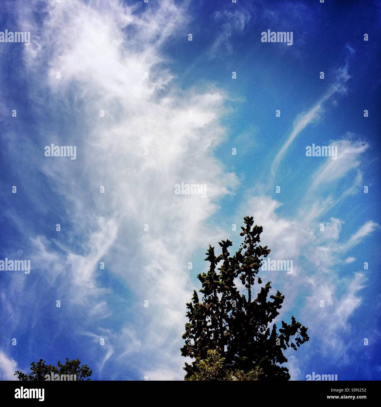 Cloud formations. - Stock Image