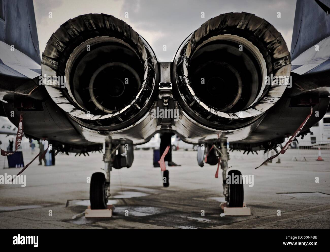 Thrust. - Stock Image