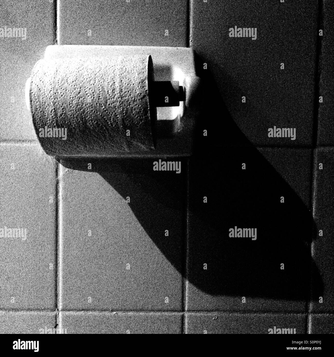 toilette paper - Stock Image