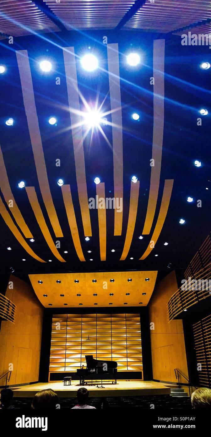Modern auditorium - Stock Image