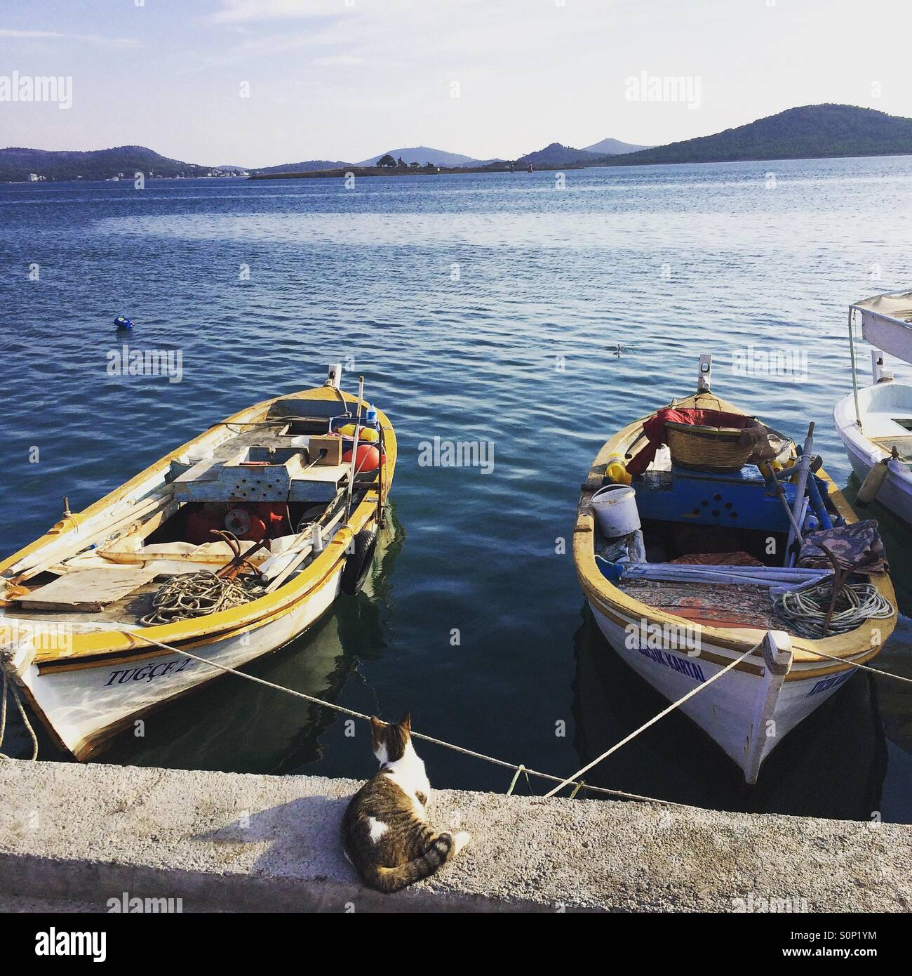Cunda Island - Stock Image