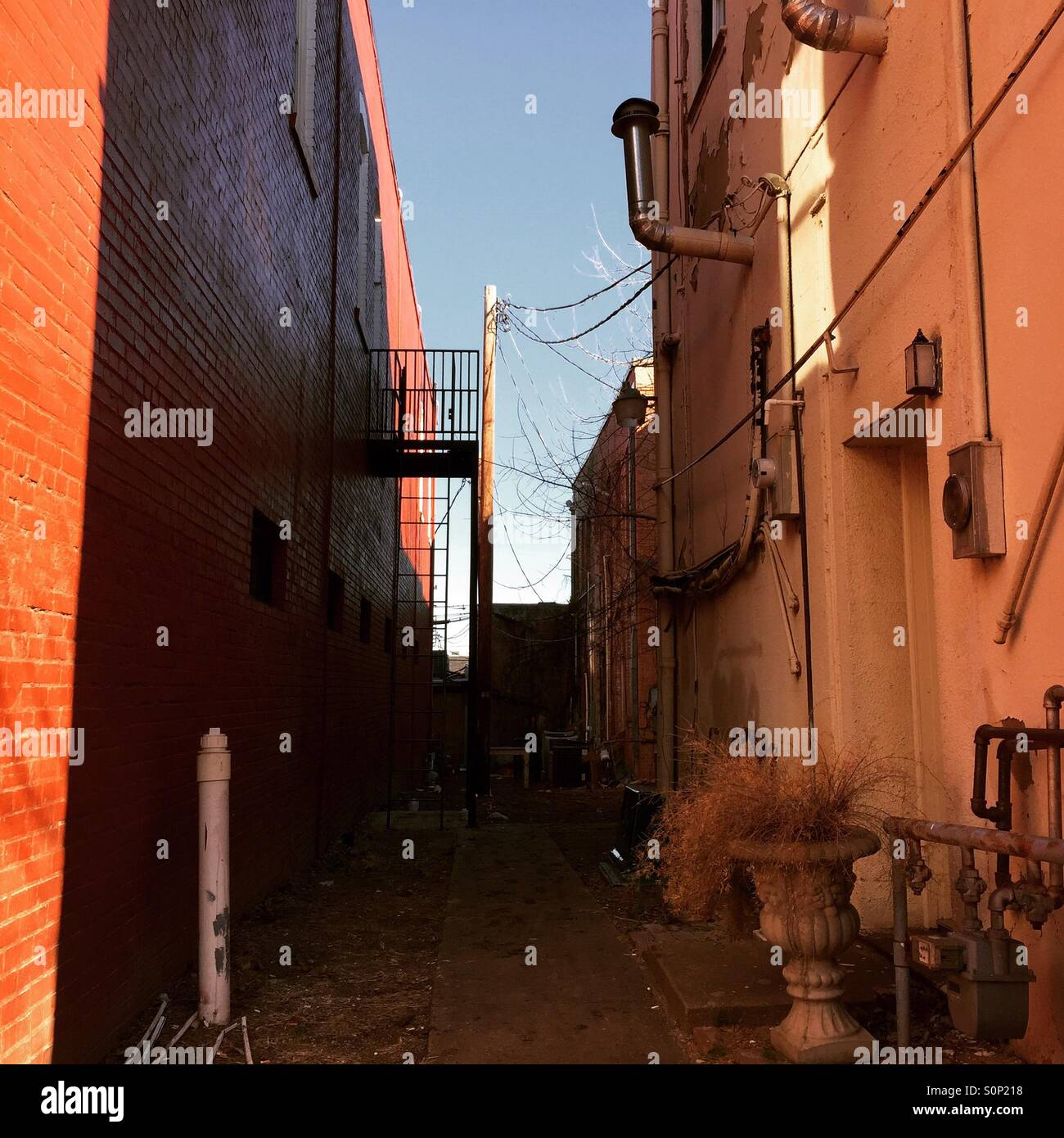 Alley way - Stock Image