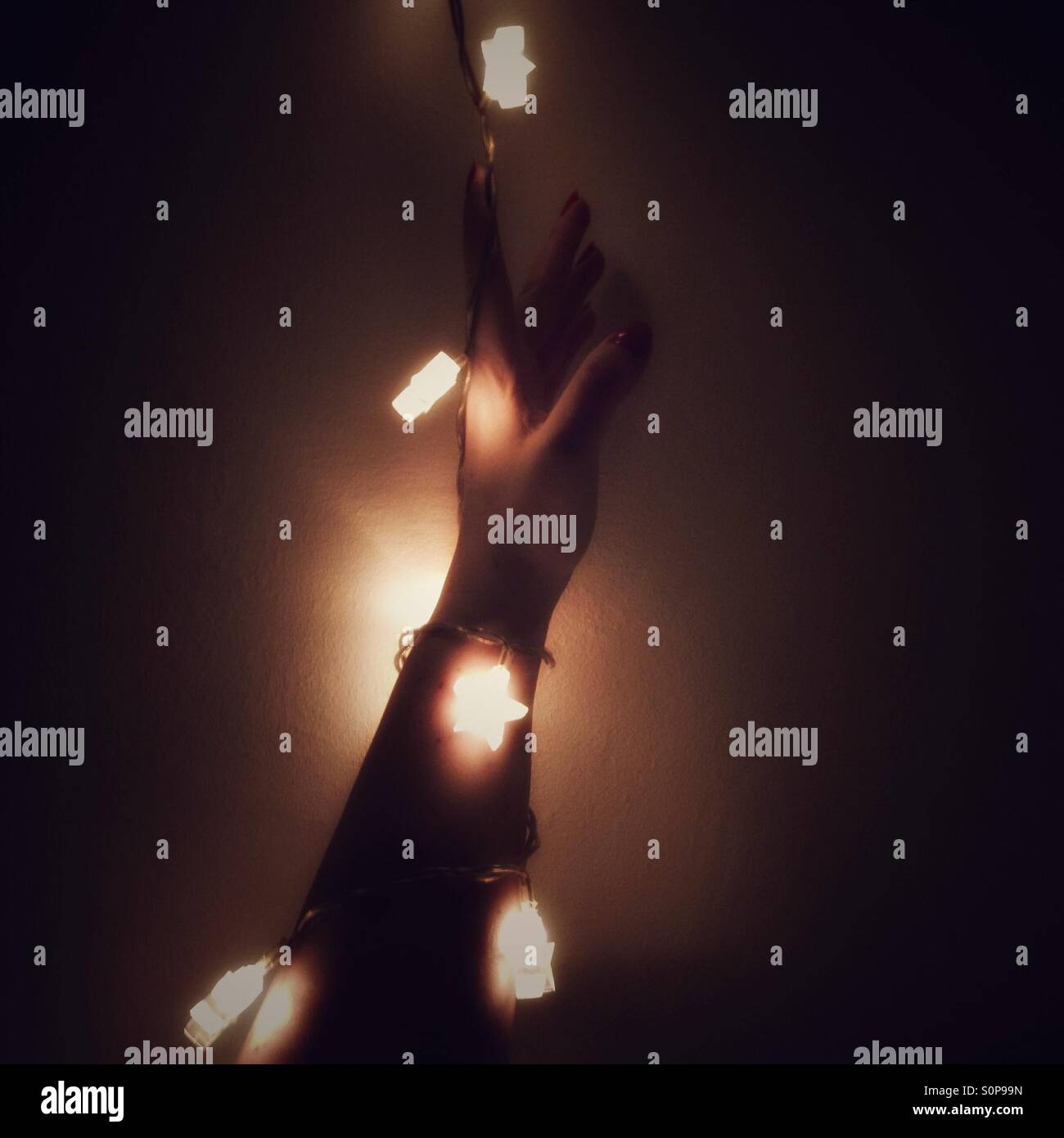 Reach for the stars - Stock Image