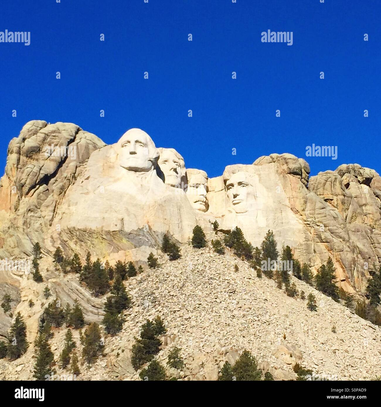 Mount Rushmore - Stock Image