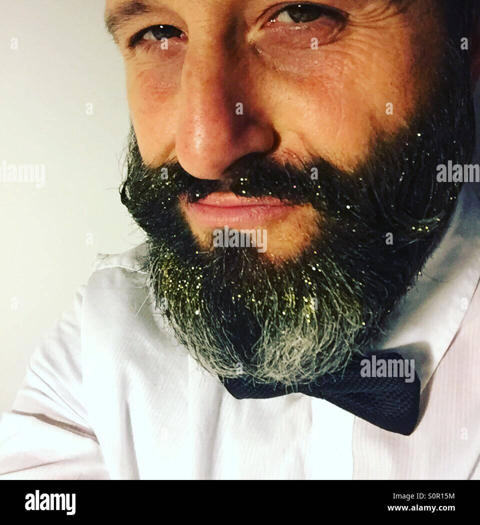 Hipster selfie - Stock Image