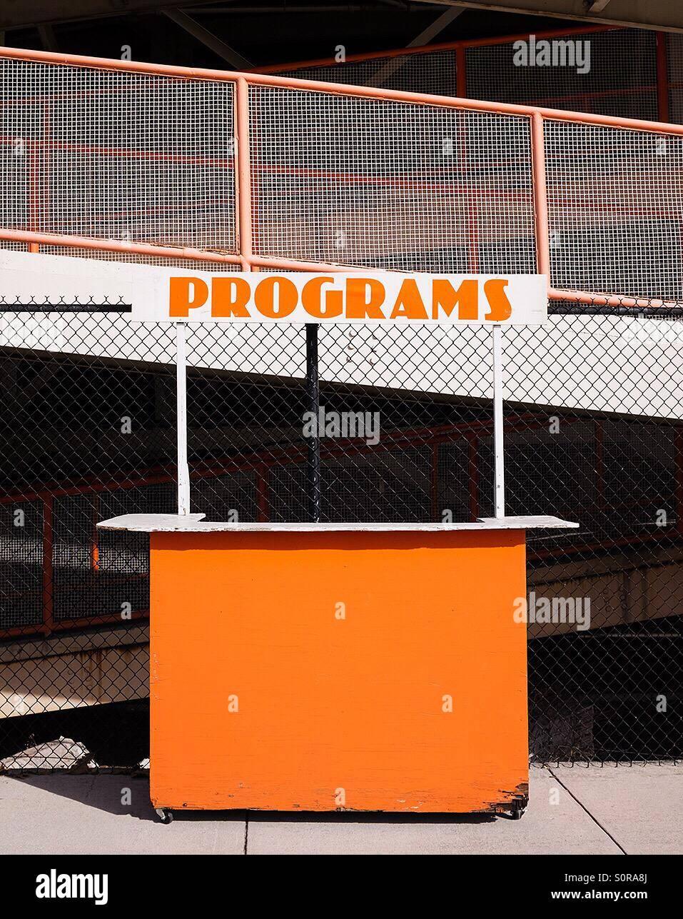 Programs - Stock Image