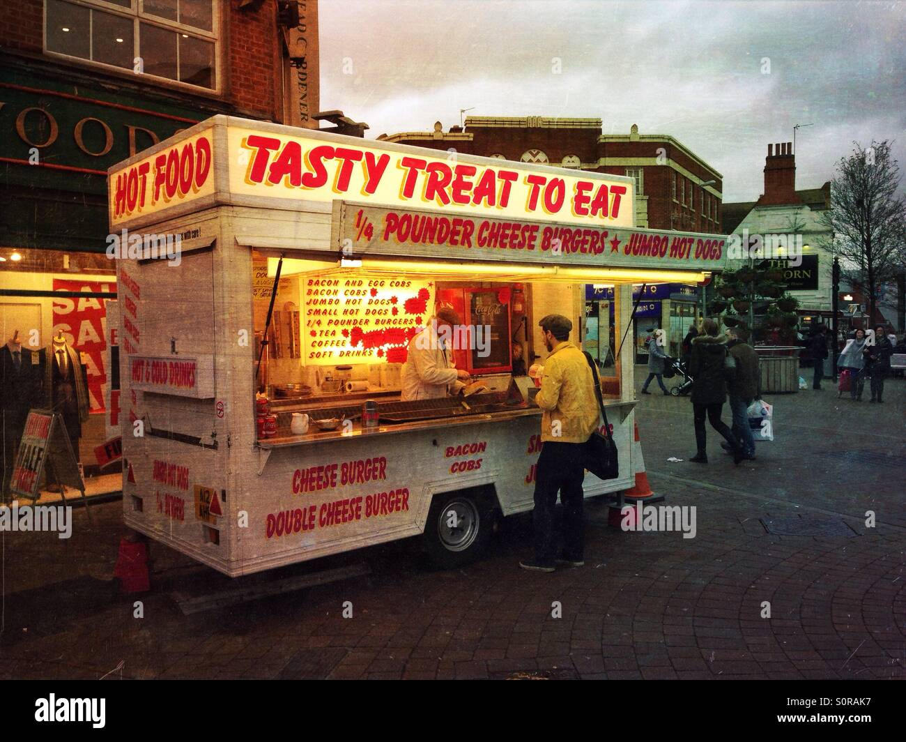 Fast Food Stall Stock Photos & Fast Food Stall Stock Images