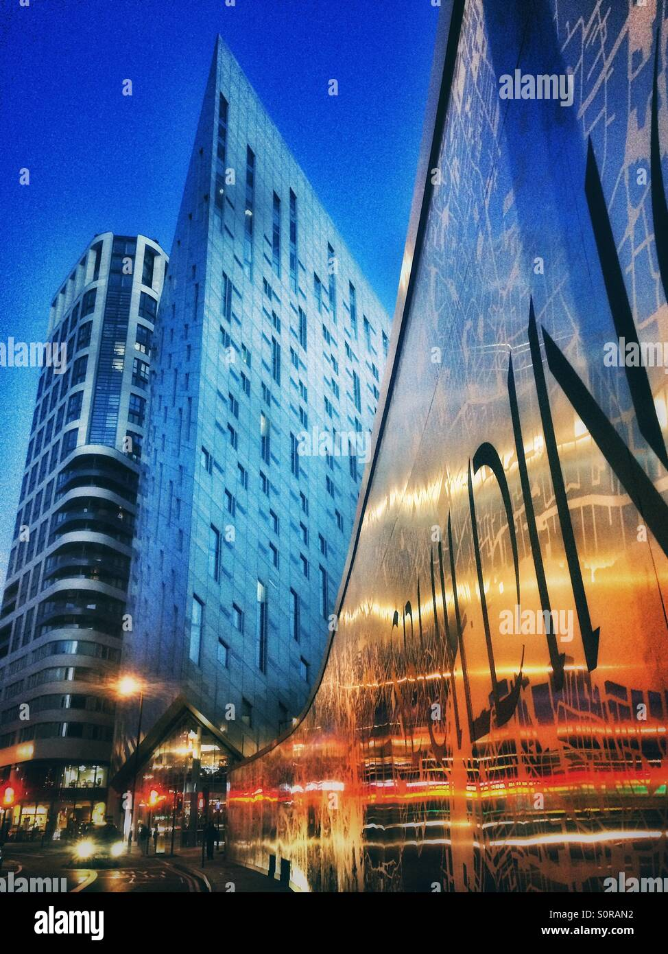 Montcalm Shoreditch: The Montcalm Building In Old Street, London Stock Photo