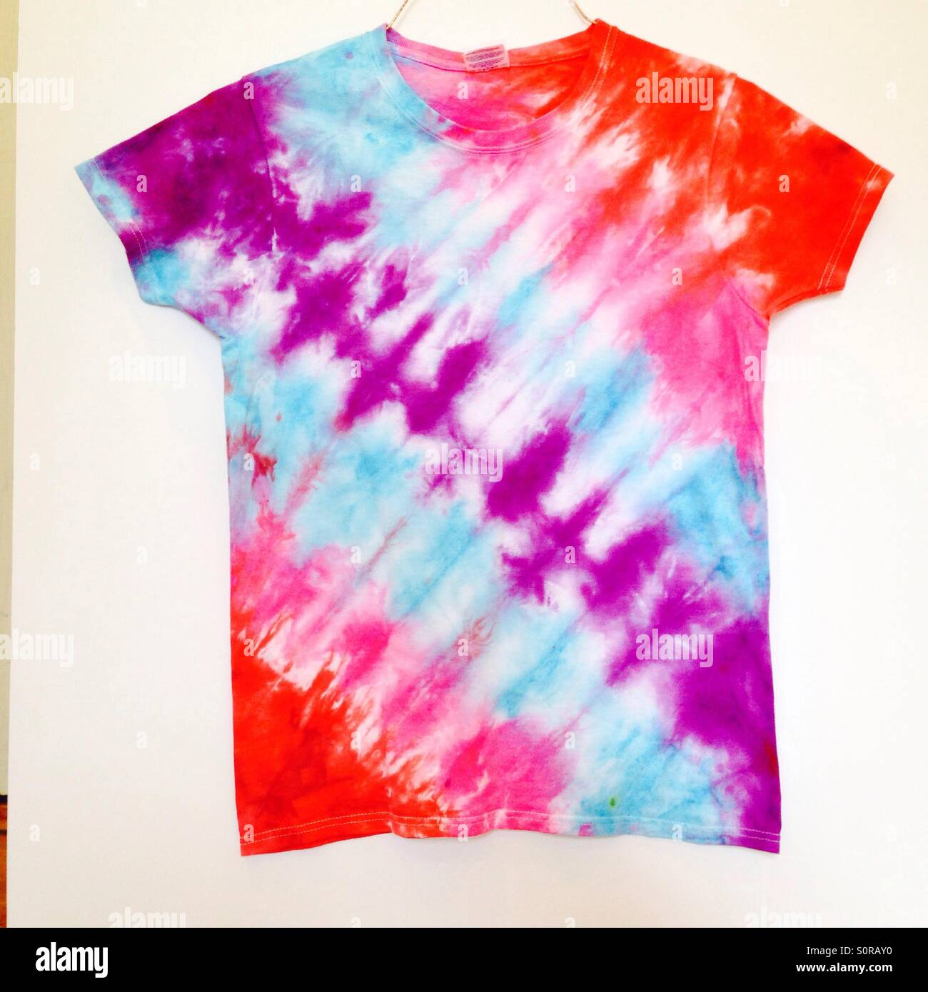 054a31d8 Tie Dye Shirt Stock Photo: 310300116 - Alamy