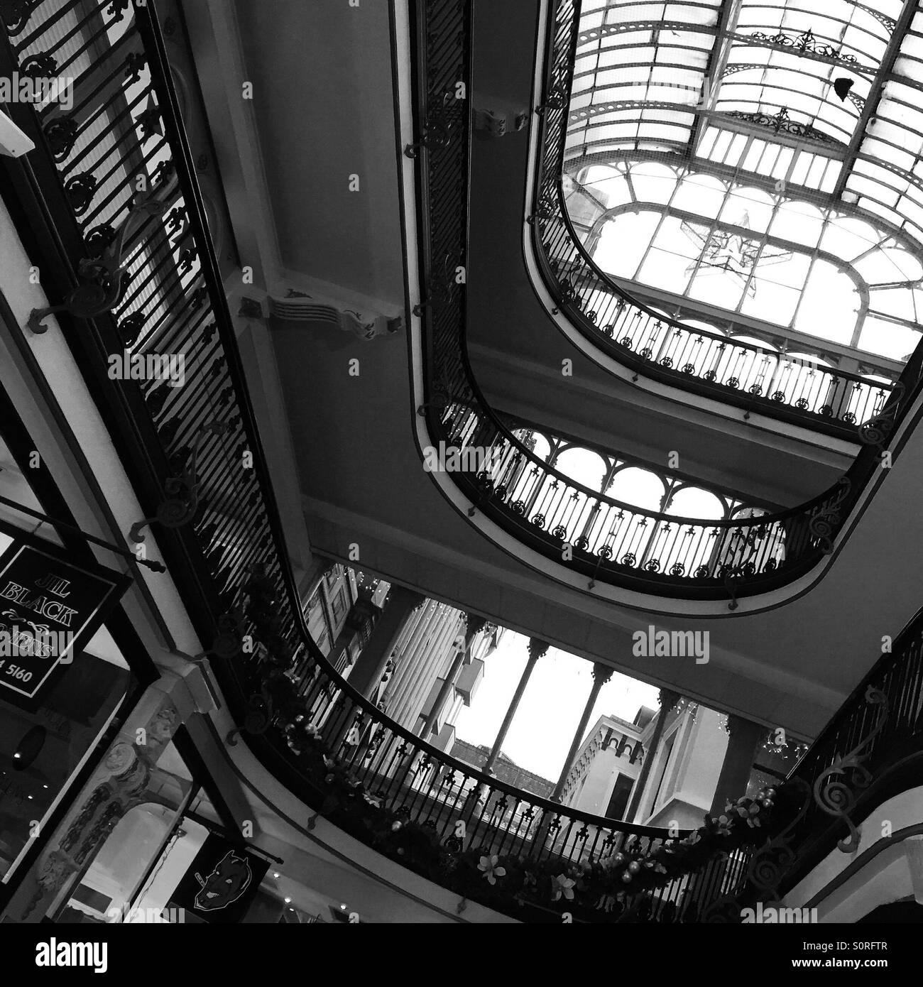 Barton Arcade in Manchester city centre - Stock Image