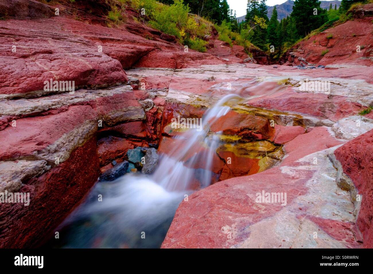 Redrock - Stock Image