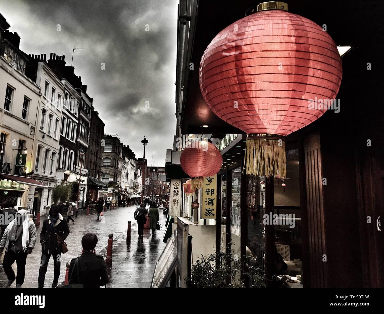 China Town, London. - Stock Image