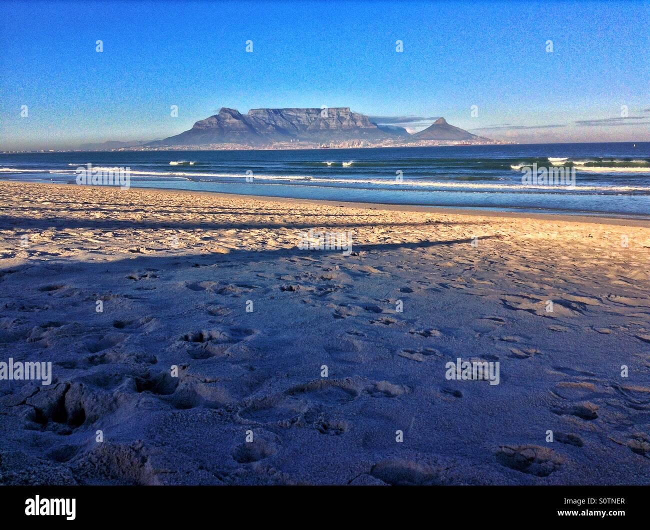 Table Mountain - Stock Image