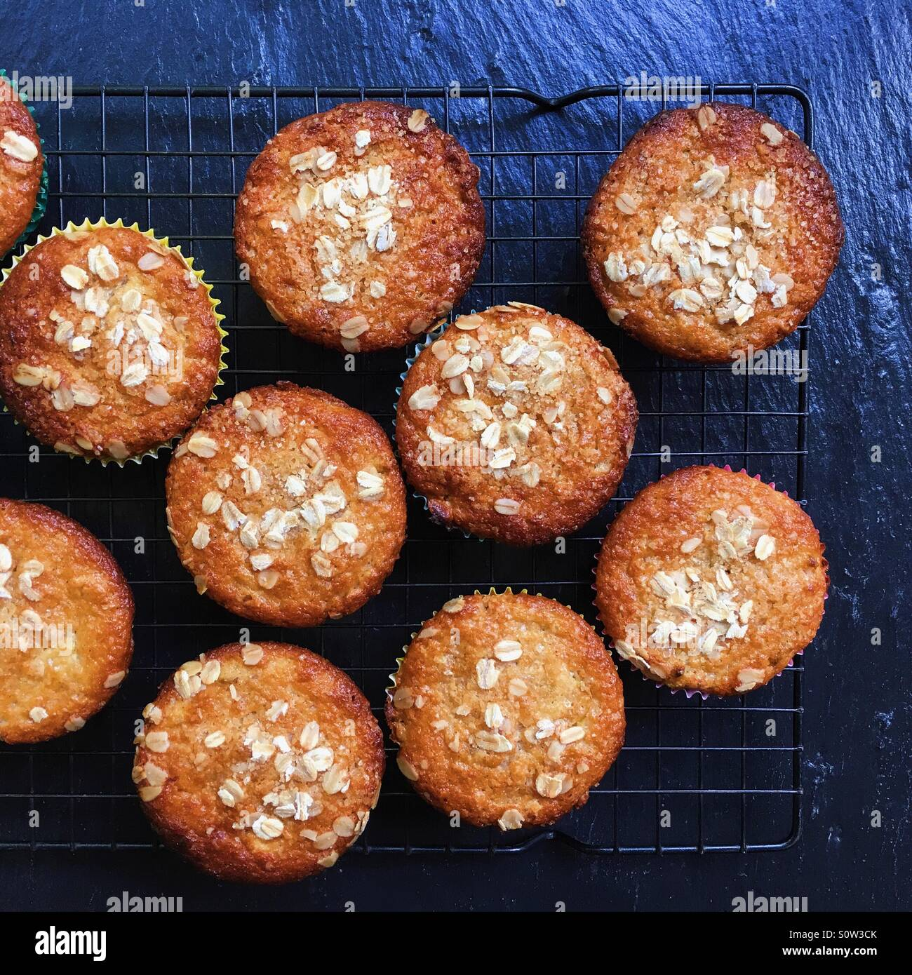 Muffins - Stock Image