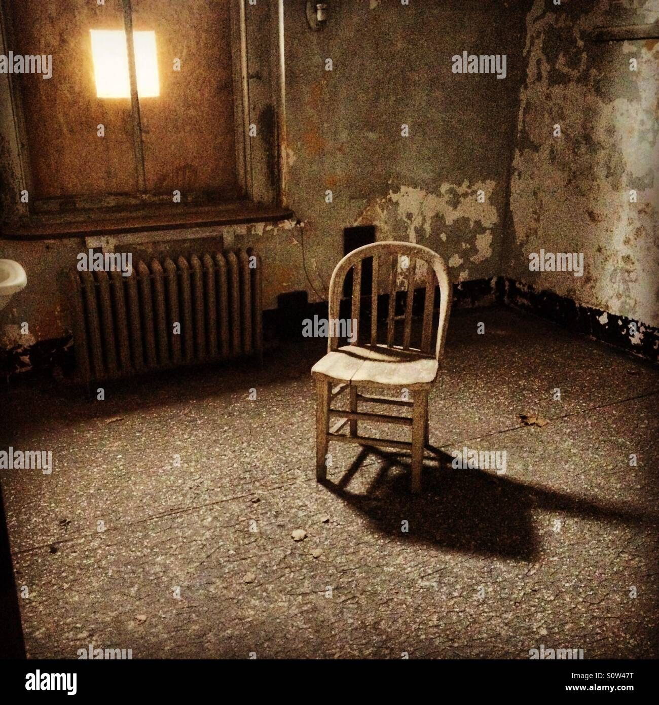 Abandoned Hospital Room Stock Photos