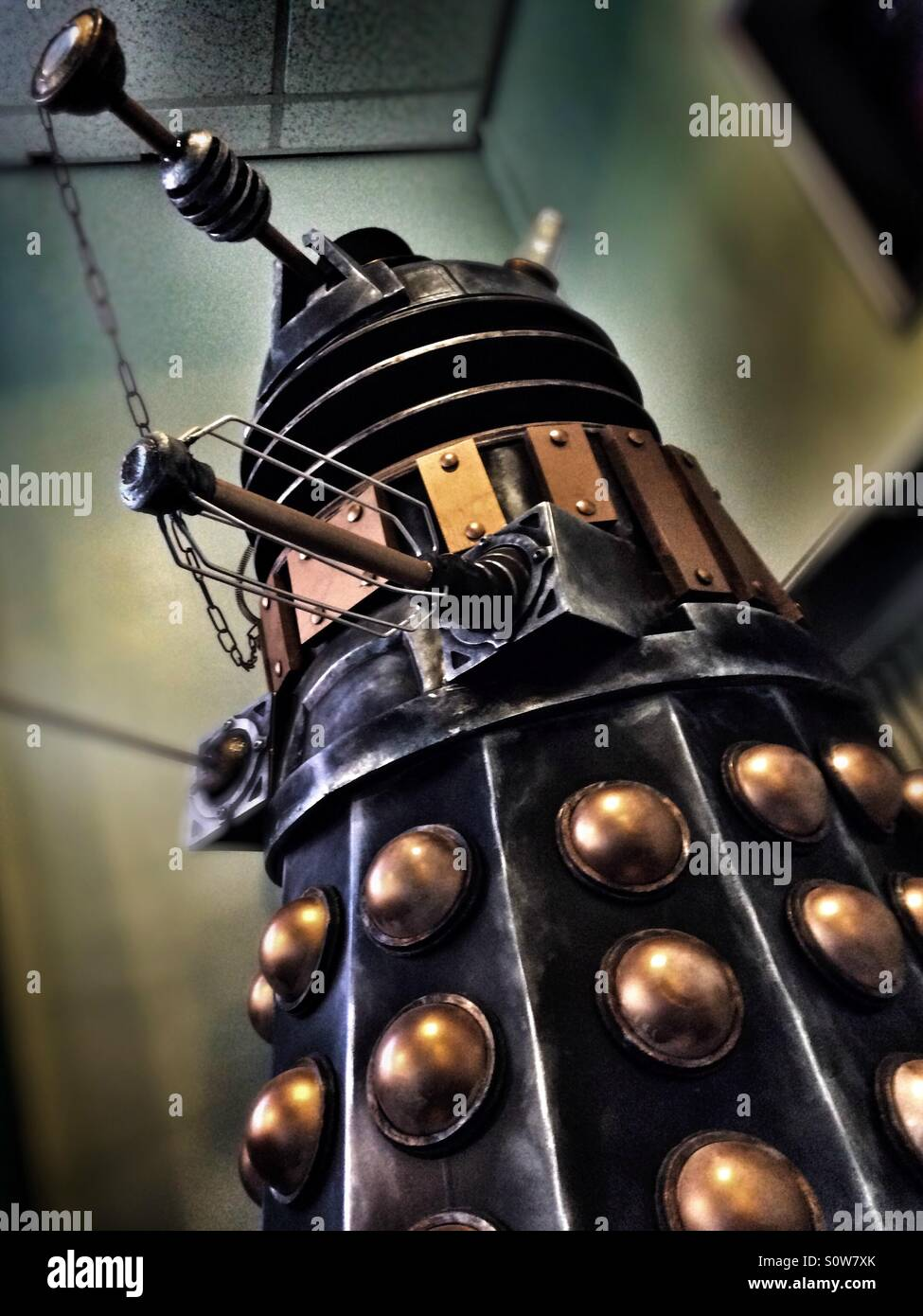 Dalek from Doctor Who - Stock Image